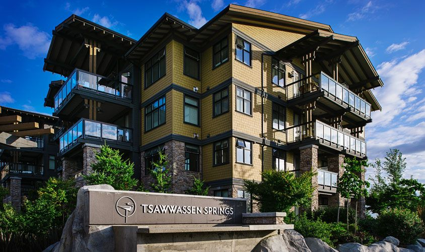 Tsawwassen Springs - Sustainable Design
