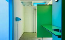 Interior - White Rock Beach Washrooms with vandal-resistant systems